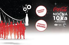 Coca-Cola noćna desetka powered by Ferivi & OLJM